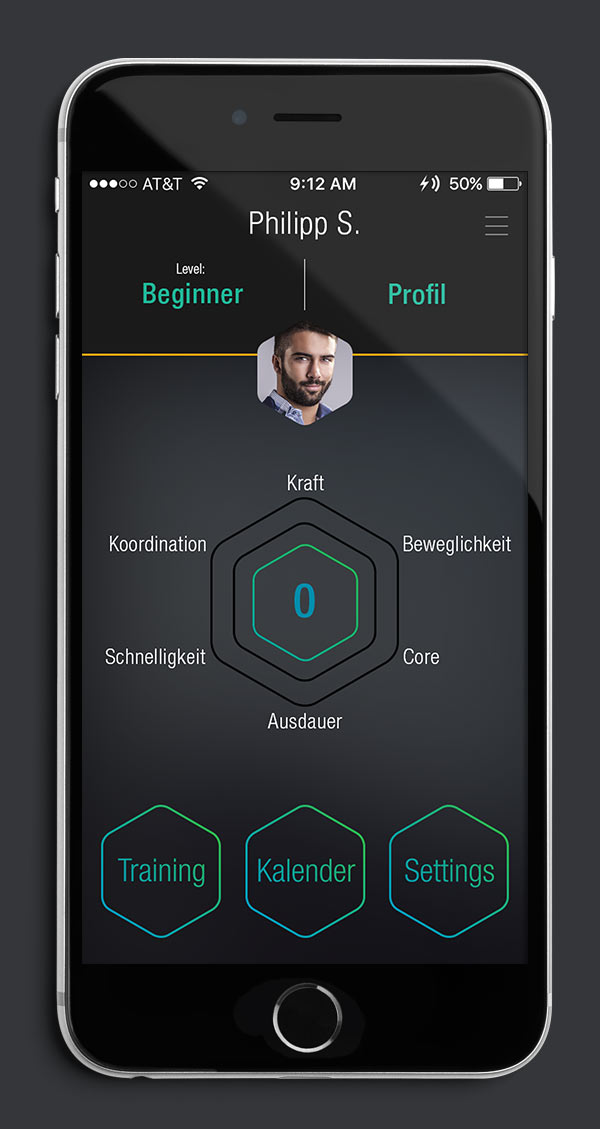 Antelope Suit App Screen 02