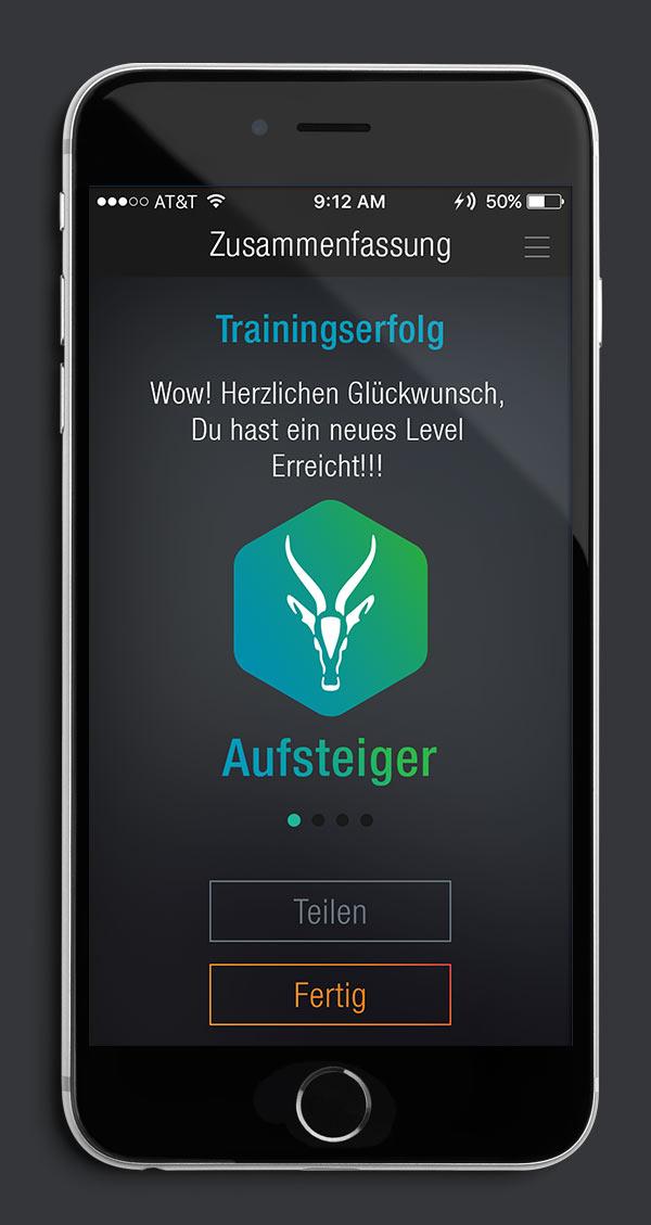 Antelope Suit App Screen 04