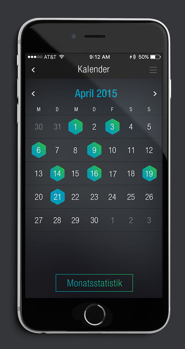 Antelope Suit App Screen 05