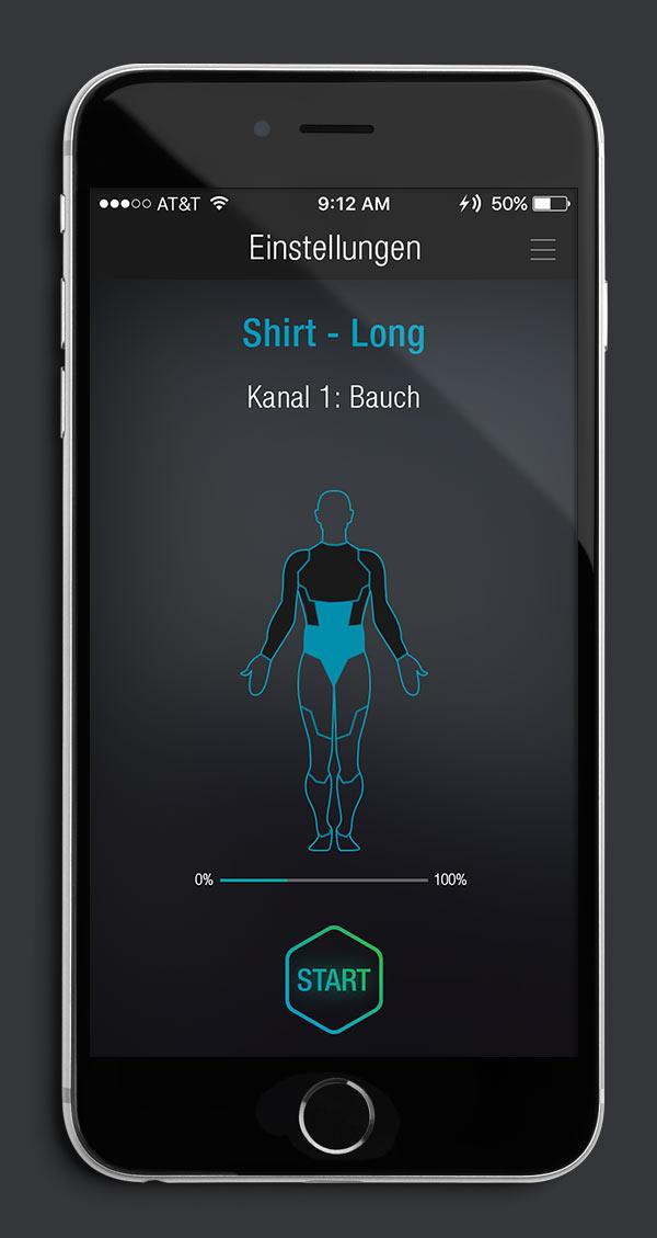 Antelope Suit App Screen 06