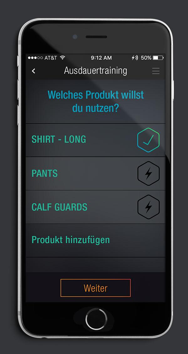 Antelope Suit App Screen 07