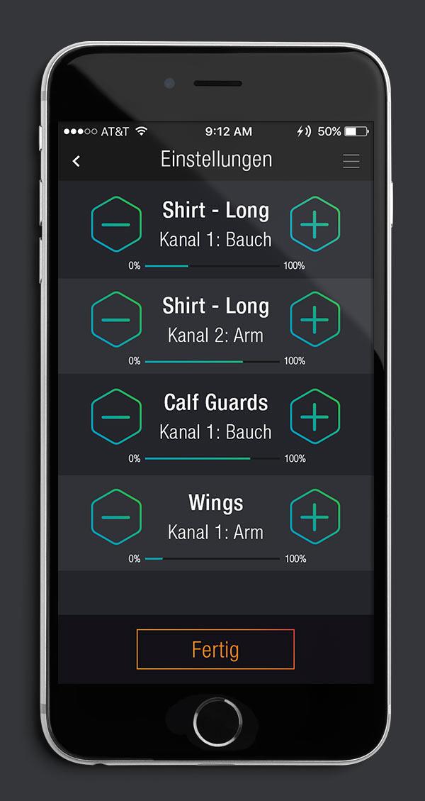 Antelope Suit App Screen 08