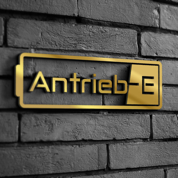 Antrieb-E Shop Sign