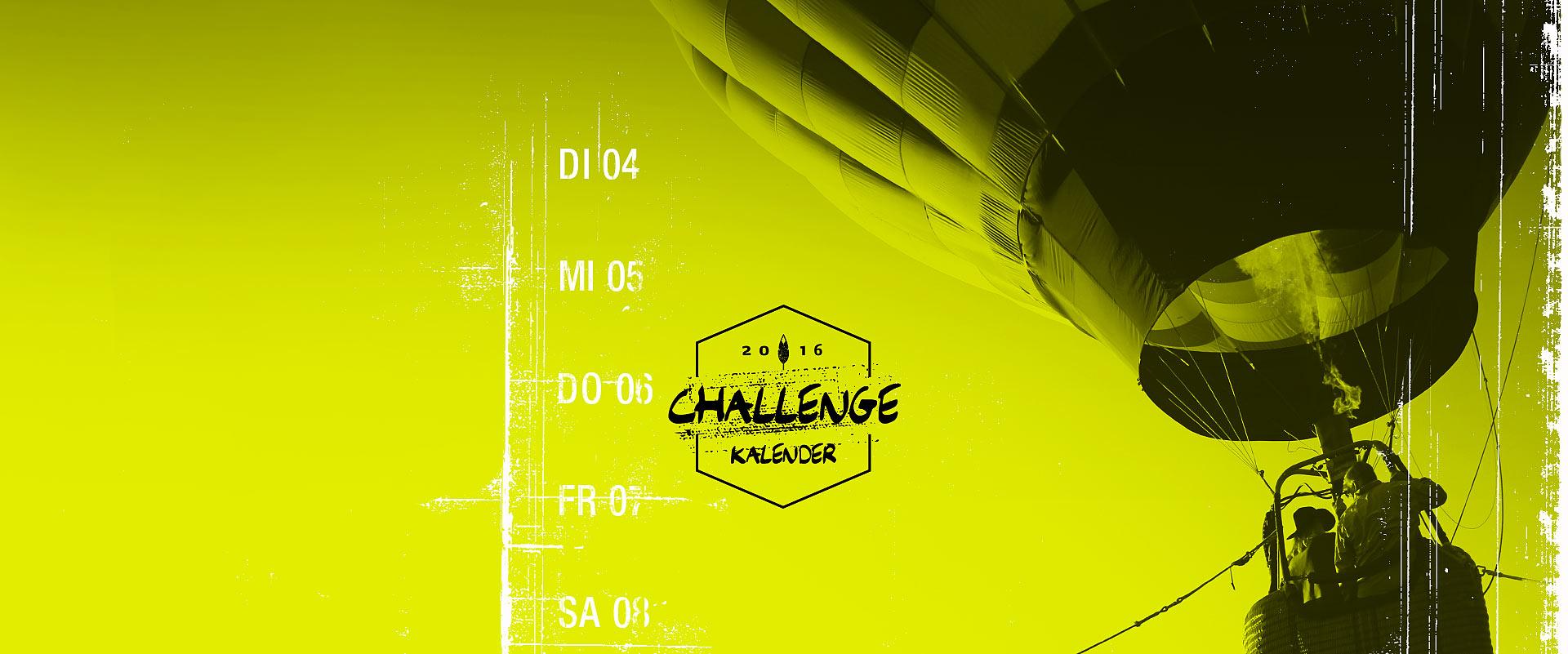 Challenge Kalender Headbild