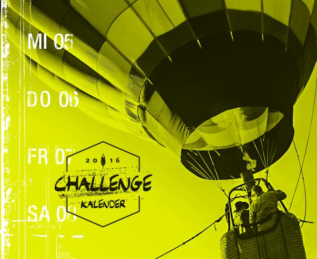Challenge Kalender Projekt
