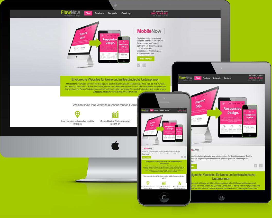 FlowNow Website Design & Coding