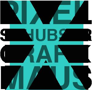 Pixel Schubser - Grafik Maus