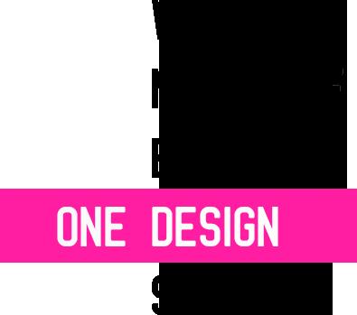 Wir sind nicht auf einen One Design shot aus