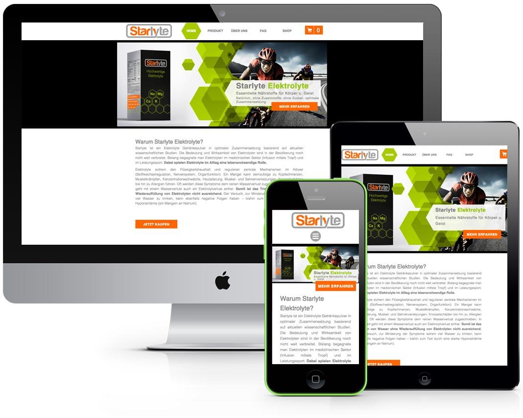 Starlyte Website Design & Coding