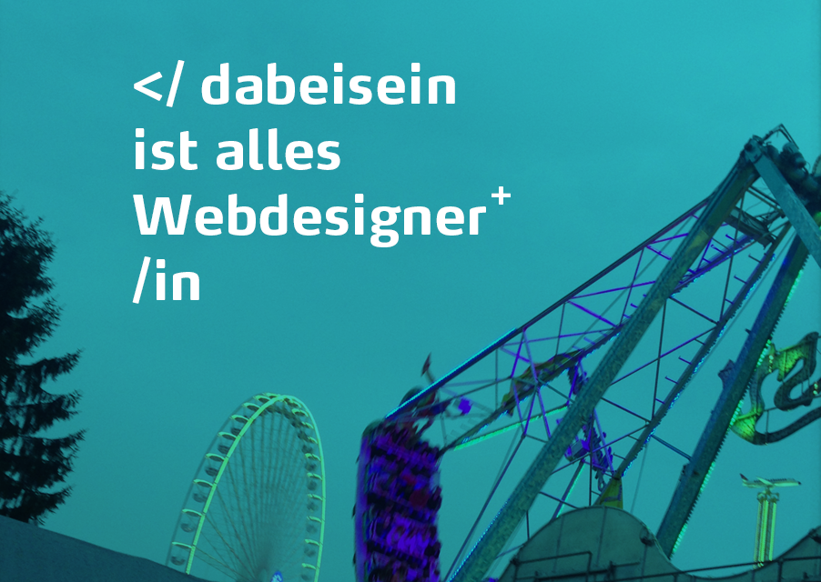 Webdesigner Stellenangebot